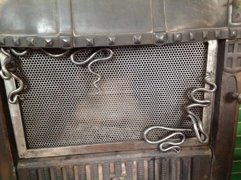 Fireplace Screen by West Pennant Forge